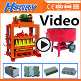 Qtj4-40 Concrete Hollow Block Machine Block Paver Machine Cement Brick Making Machine Price in India