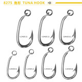 Chinese Cheap Carbon Steel K-Type Fishing Hooks Tuna Hooks