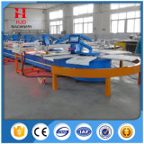 China Wholesale 8 Colors Full Automatic Oval Screen Printing Machine