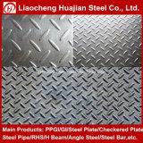 Tear Drop Ms Hr Mild Steel Checker Plate for Floor