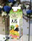 1000ml 6 Layer Juice Gable Top Carton