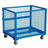 Rolled Storage Collapsible Steel Wire Mesh Container