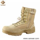 Hot Sale Side Zipper Military Desert Boots (WDB021)