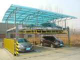 Vertical-Horizontal Mechanical Parking System with Easy Operation