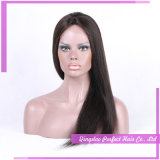 Silk Top Remy Human Hair Glueless Lace Front Wig