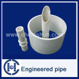 Chemshun Ceramics 92 Alumina Ceramic Wear Resistant Engineered Pipe Linings