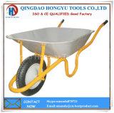Metal Tray Rubber Wheel 3.00-8 Tyre Wheelbarrow