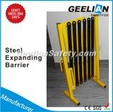 Telescopic Barrier, Steel Galvanized Temporary Barricade Fence