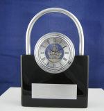 Padlock Shape Clock with Mini Skeleton Movement