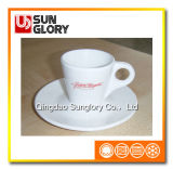 Strengthen Porcelain/Ceramic Coffee Cup with Saucer
