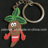 Customized Custom Soft PVC Rubber Cartoon Key Chain