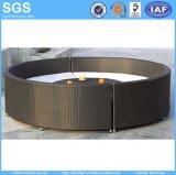 Modern Wicker/Rattan Round Sofa Wholesale Round Furniture