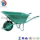 Cheap&Beautiful Plastic Tray Wb6404s Wheelbarrow