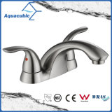Sanitary Ware Dual Handle Bathroom Brass Basin Faucet (AF5013-6)