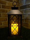Big Gold Finish Porch Lantern