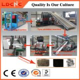 Waste/Used Tyre Shredder Recycling Machine Equipment with Rubber Powder Production Line