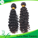 Unprocessed Brazilian Virgin Hair 100% Natural Black Human Hair Weft