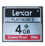 Lexar Platinum II CF Card 4GB 200X Compact Flash Card