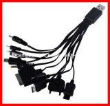 10 in 1 Mobile Phone Chargers for Mobile Phone, Charge iPhone, iPad, iPod, Samsung, HTC