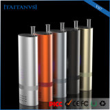 Super Fast Glass Pipe Ceramic Heating 18650 Power Dry Herb Vaporizer E-Cig
