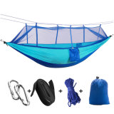 China Supplier Camping Hammock with Mosquito Net 100% Nylon Hammock