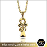 Missjewelry Fashion Jewelry Gold Ankh Necklace Jewelries for Women
