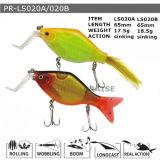 Pr-Ls020A/020b Customized Floating Hard Minnow Plastic Fishing Lure