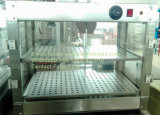 Commercial Stainless Steel Food Warming Showcase, Food Warmer (DFW-610-2TL)