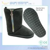 Women′s Winter Snow Fur Lining Buckles Side Zipper Outdoor Boots