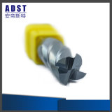 50HRC CNC 4flute Tungsten Steel End Mill for Lathe