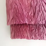 100% Polyester Crepe Crinkle Fabric for Dress