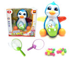 Kids Toy Electric Penguin Battery Operated Toy Gift (H1308056)