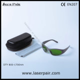 Sports Type of 1064nm /1320nm/ 1470nm Laser Protective Goggles for ND: YAG Lasers with Frame 55