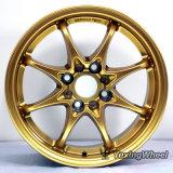 Golden Beautiful Car Wheel Rims 15 Inch