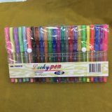 24 Colors Glliter Pen Set (#108) , Gel Ink Pen