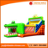 Kids Crocodile Bouncy Castle Slide Inflatable Entertainment Slide (T4-613)