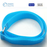 Customized Color Hook and Loop Nylon Material Buckle Straps