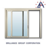 Australian Standard Aluminum Exterior Sliding Glass Thermal Break Window