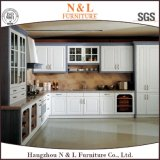 Custom Made Modern Home Furniture PVC Wood Kitchen Cabinet Furniture