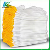 Industrial Safety Knitted White Cotton Hand Work Gloves for Wholesale