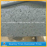 Natural Honed Hainan Black Basalt Tiles for Flooring and Wall