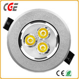 10W COB LED Downlight with 3 Years Warranty