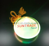 Custom Plastic Rope LED Pin Badge for Promotional Gift