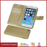 PU Leather Wallet Case with Detachable Magnet Slim Case for iPhone 7 Case