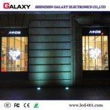 Best Selling Full Color P3.75/P5/P7.5/P10 Transparent/Glass/Window/Curtain LED Video Display Screen/Sign/Wall for Advertising