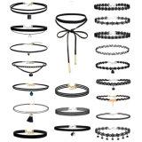 Fashion 20 PCS Set Collar Gothic Choker Necklace Jewelry