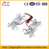 Hot Sale Custom Lizard Metal Badge with Chain