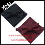 Pure Silk Woven Wholesale Bow Tie Sets with Matching Handkerchief