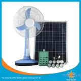 Solar Fan with Portable Solar Lighting Kit