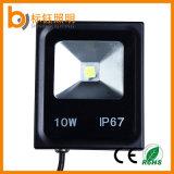 Waterproof IP67 10W COB Outdoor Lighting Slim LED Floodlight